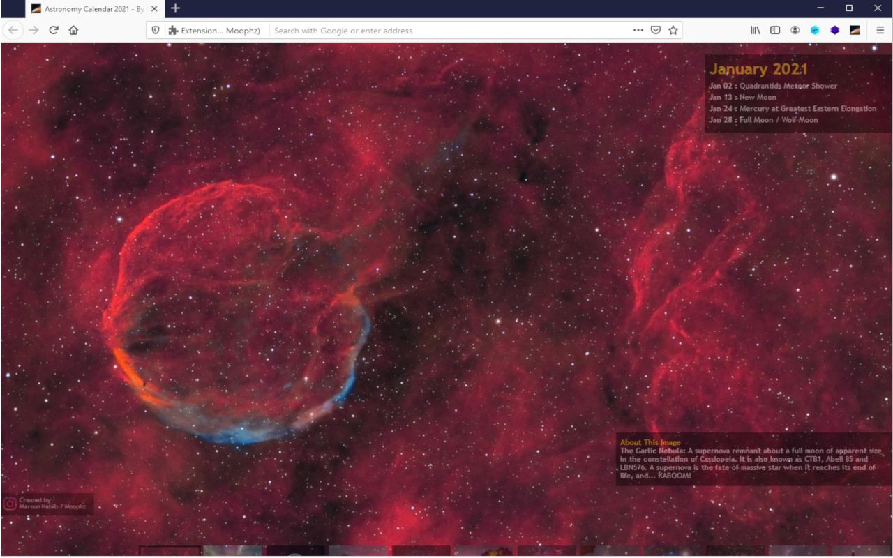 Astronomy Calendar for celestial events 2021 v1.2 - Best ...