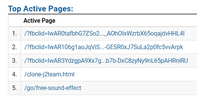 Ai đó sử dụng mã Google Analytics của tui, tui lần theo và hack vào Database của hắn